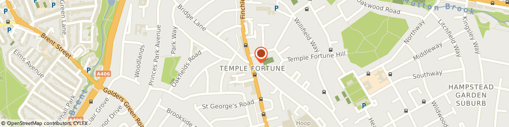 Route/map/directions to Caldershot Finance Ltd., NW11 7TJ London, 788 - 790 FINCHLEY ROAD