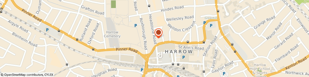 Route/map/directions to The Travel Protection Group Plc, HA1 1PD Harrow, CEVANTES HOUSE, 5-9 HEADSTONE ROAD