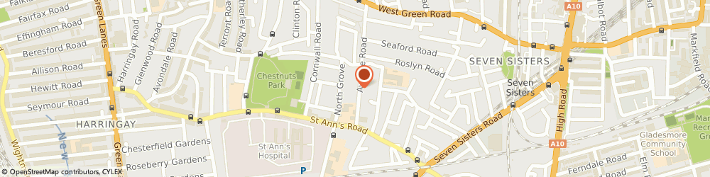 Route/map/directions to Japaseeds Uk Ltd., N15 5JG London, 13 AVENUE ROAD