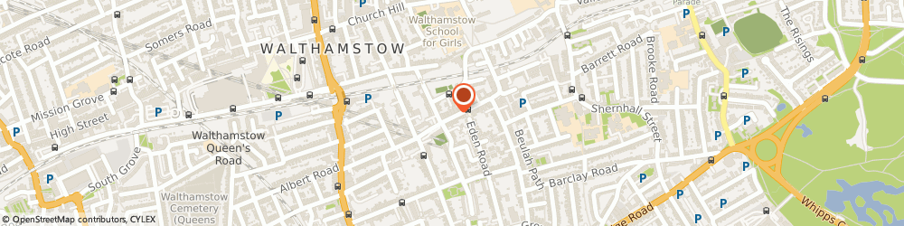 Route/map/directions to Walthamstow Locksmiths 020 8819 1885, E17 9NJ London, 28-32 ORFORD RD