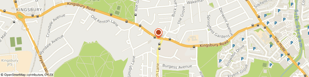 Route/map/directions to Risk Insurance Consultants, NW9 8UG London, 235-241 Kingsbury Road