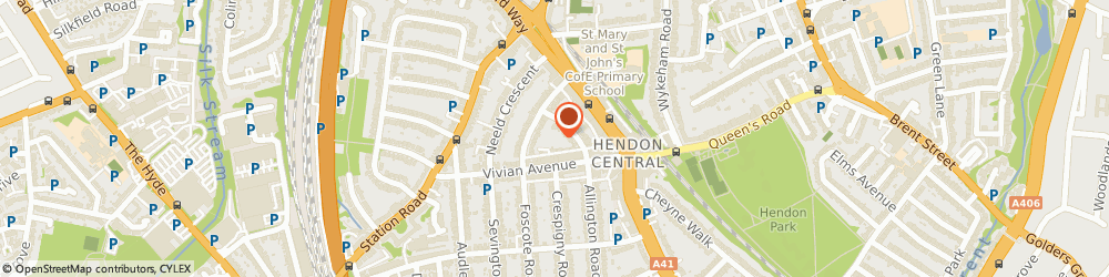 Route/map/directions to Jewish Family Mediation Register, NW4 4ZH London, P O Box 24011
