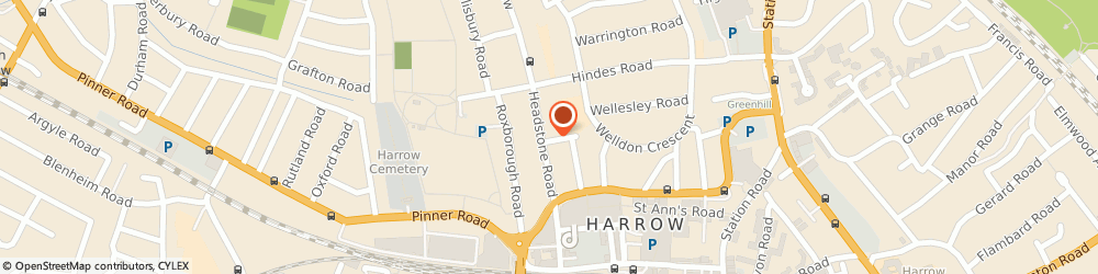 Route/map/directions to Amex Associates Limited, HA1 1QB Harrow, 85 Headstone Rd