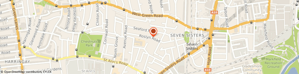 Route/map/directions to New Direction Training Centre, N15 5JJ London, 98 ROSLYN ROAD