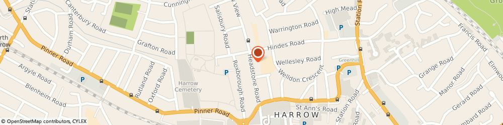 Route/map/directions to DOLLIMORE WILSON LTD, HA1 1PG Harrow, 111 Headstone Road