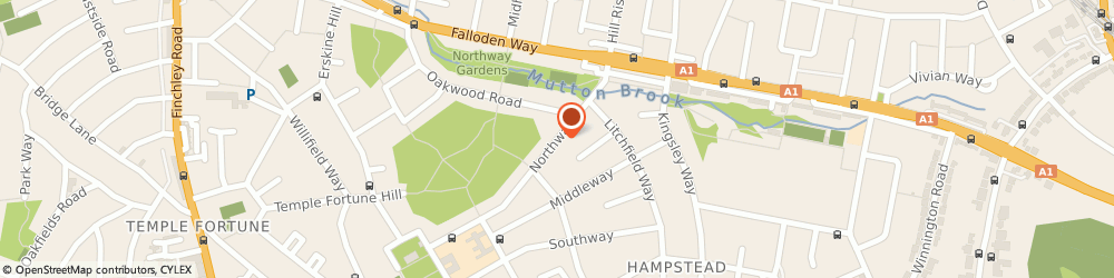 Route/map/directions to Moore Media Ltd, NW11 6PD London, 73 NORTHWAY
