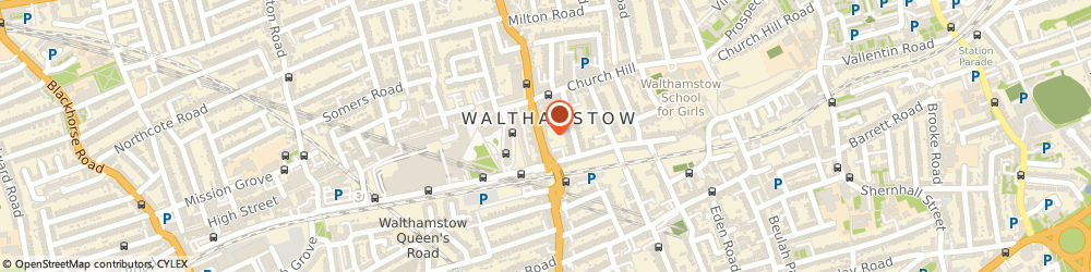 Route/map/directions to Bairstow Eves Estate and Lettings Agents Walthamstow, E17 3AL London, 171-173 Hoe Street