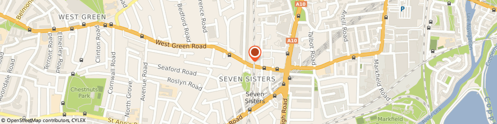 Route/map/directions to Eden Music Records, N15 5NR London, 60 WEST GREEN RD