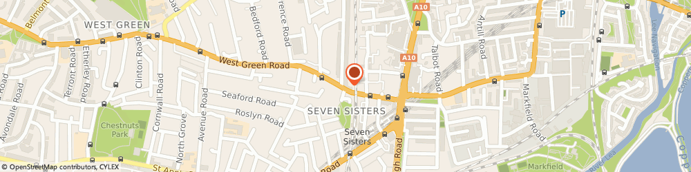 Route/map/directions to Cf Styles Ltd, N15 5NR London, 66 W Green Rd