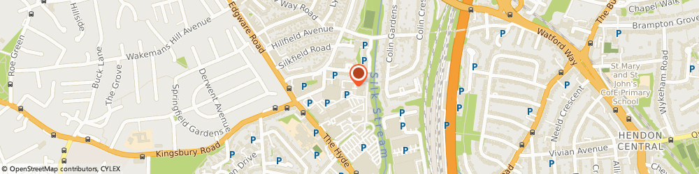 Route/map/directions to Everest Desserts Ltd, NW9 6JP London, UNIT 1B/THE HYDE INDUSTRIAL ESTATE