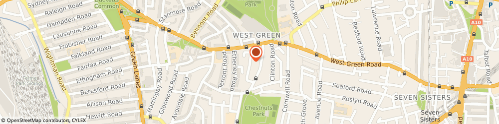 Route/map/directions to Statecraft Building Limited, N15 3BT London, 21 Abbotsford Avenue