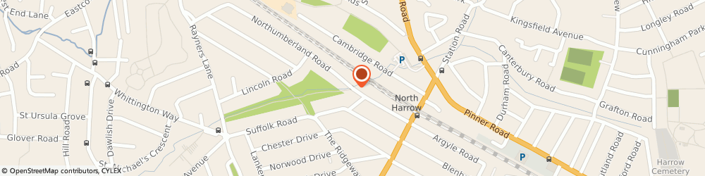 Route/map/directions to A1 Roofing Harrow, HA2 7RD Harrow, 2 Northumberland Road