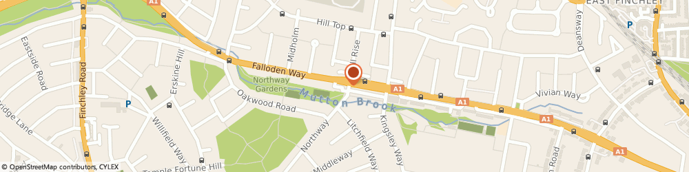 Route/map/directions to Luxury Wood Flooring Ltd, NW11 6JG London, 8, The Market Place, Falloden Way