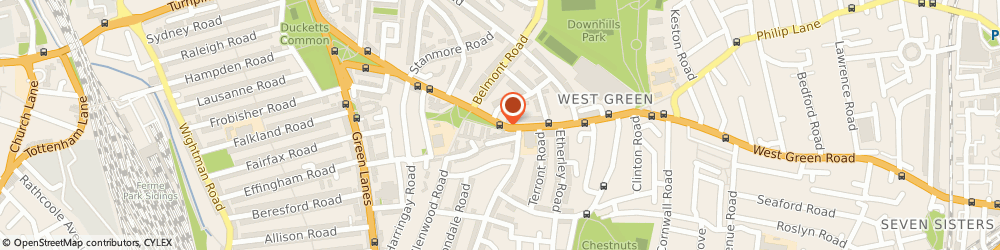 Route/map/directions to Peacocks Fashion, E13 9AP London, 374-378 Green Street