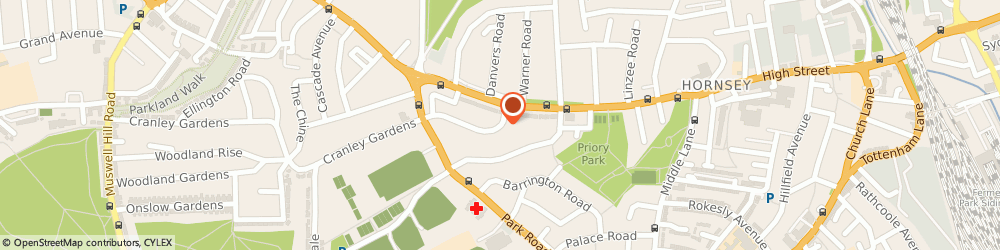 Route/map/directions to Mr Eldad Aizenberg - Psychotherapist, N8 8LD London, 15 Farrer Road