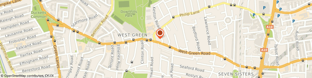 Route/map/directions to North London Bathroom Fitters, N15 4AA London, 3 Spur Road