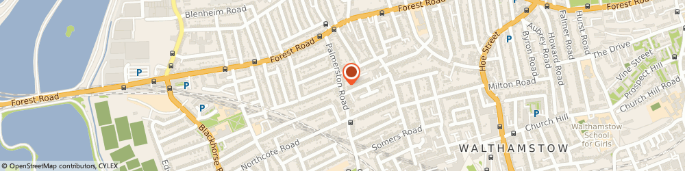 Route/map/directions to Ambe International, E17 6PZ London, 110-112, Palmerston Rd