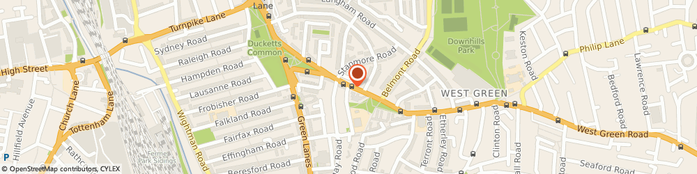 Route/map/directions to Tottenham Minicabs, N15 3PL London, 435 WEST GREEN ROAD