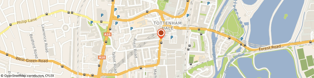Route/map/directions to Baxters Wedding Cars, N15 4AY London, 11 SPRINGFIELD ROAD