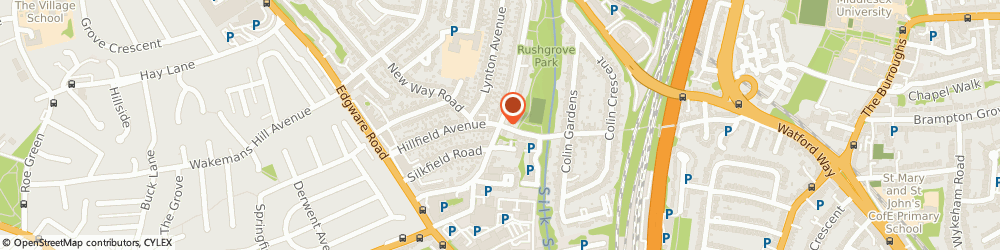 Route/map/directions to NECTI CARS LTD, NW9 6QP London, 43 Rushgrove Avenue