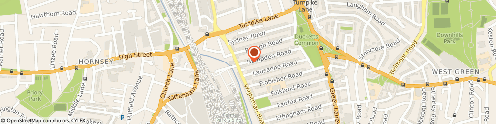 Route/map/directions to Zeko Building Services Ltd, N8 0HT London, 20 Hampden Rd