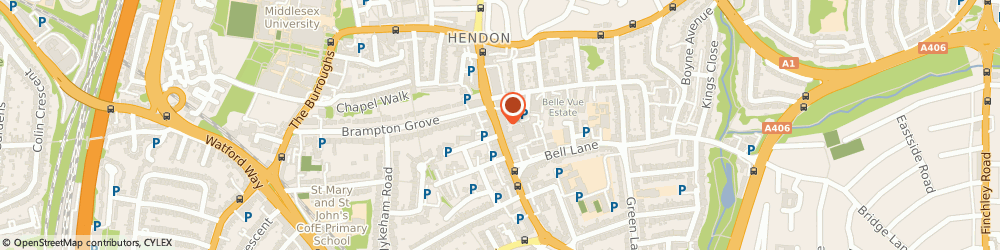 Route/map/directions to Hendon Estates Ltd, NW4 2DR London, 142 Brent Street