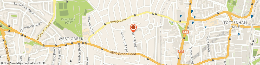 Route/map/directions to Foxy Lady Ltd, N15 4EF London, 47, LAWRENCE ROAD