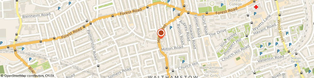 Route/map/directions to Forest Photographic Co, E17 4QR London, 128-128a Hoe St