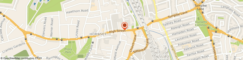 Route/map/directions to F m G Scaffolding, N8 7QB London, High St