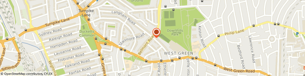 Route/map/directions to Rafixbuilding Limited, N15 3LT London, 40 A Belmont Road
