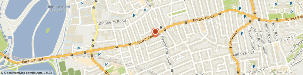 Route/map/directions to Car Radio Centre, E17 6JG London, 178 FOREST ROAD