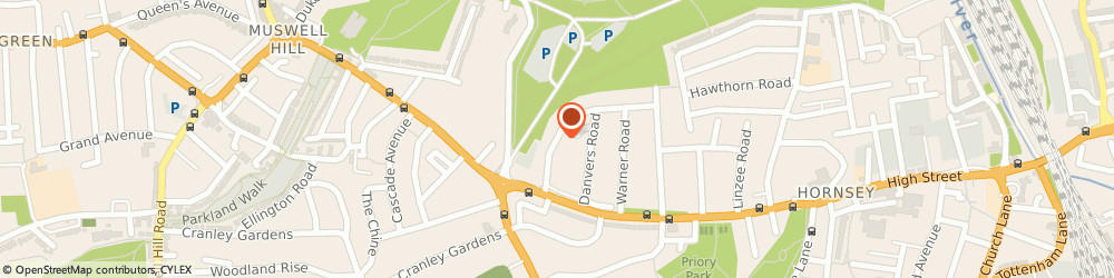 Route/map/directions to M S C Scaffolding Ltd, N8 7HJ London, 24 Redston Road