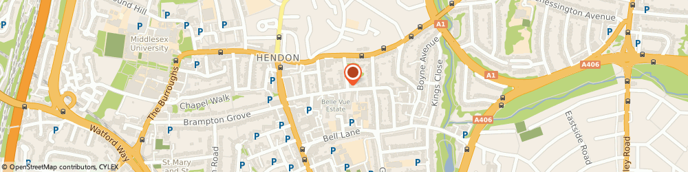 Route/map/directions to Allen and Young Removals, NW4 2RN London, 24B Second Avenue