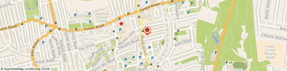 Route/map/directions to Images In Frames, E17 3JX London, 59 Wood Street