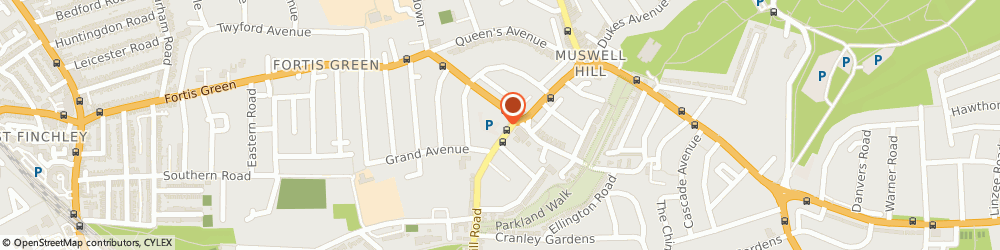 Route/map/directions to Old Belmont Limited, N10 3HS London, 105 MUSWELL HILL ROAD