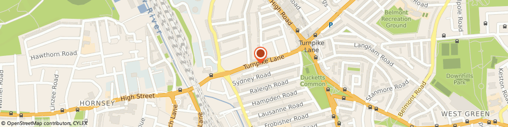 Route/map/directions to Anchal House Of Sarees & Suits, N8 0PR London, 80, TURNPIKE LANE