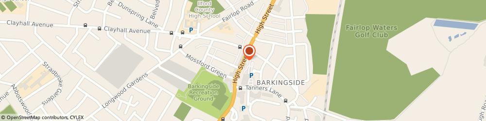 Route/map/directions to Barkingside Locksmiths, 24 Hour Locksmith, IG6 2DR London, High Street
