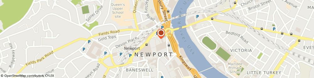 Route/map/directions to Henderson & John Insurance Services Limited, NP20 1FQ Newport, 13 High St
