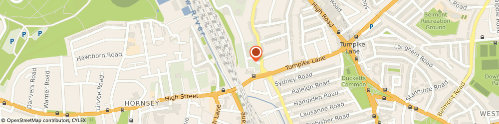Route/map/directions to Jessica Buttons Ltd, N8 0DJ London, 1st Floor, 30 Clarendon Road