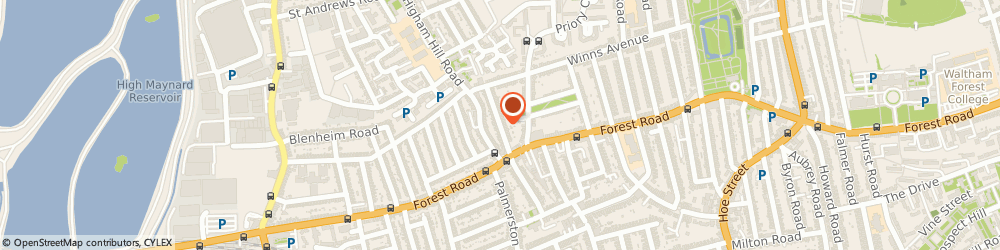 Route/map/directions to London Metropolis Scaffolding, E17 5LN London, 30 Luton Rd
