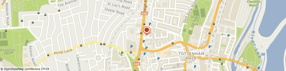 Route/map/directions to Dimoda Events Co, N17 9HY London, 376 Tottenham Highstreet