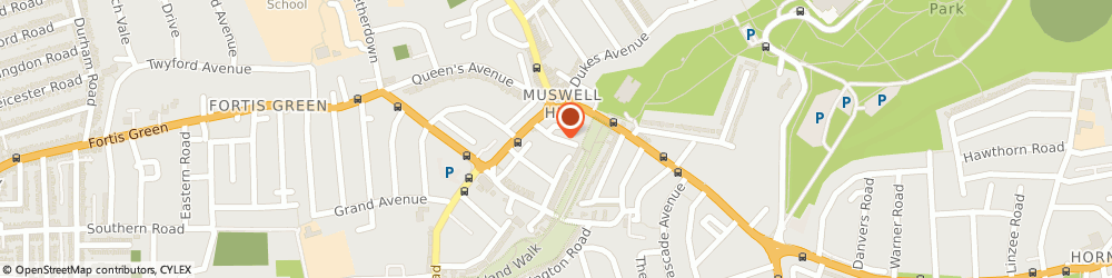 Route/map/directions to Brocklehurst Ltd, N10 3QP London, 12 Summerland Gardens, Muswell Hill