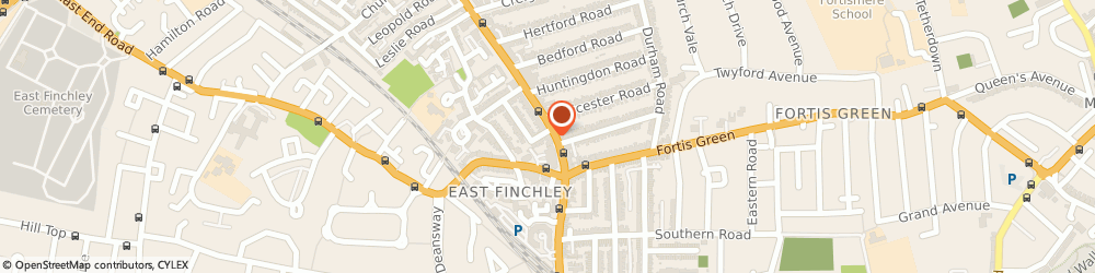 Route/map/directions to NatWest - LONDON ATM, N2 8AE London, 85 High Street