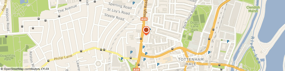 Route/map/directions to Tottenham Police Station, N17 9JA London, 398 High Road