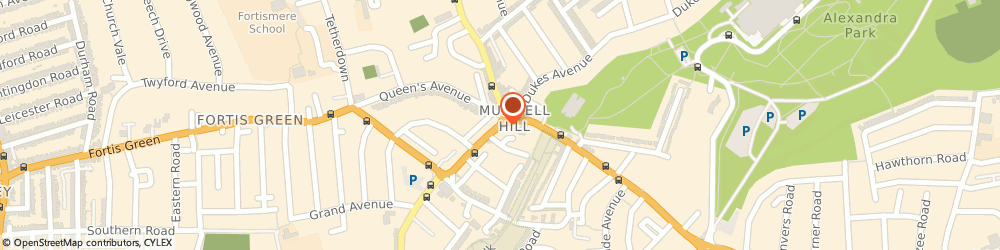 Route/map/directions to Local locksmith Muswell Hill, N10 1BS London, 145 Muswell Hill Broadway