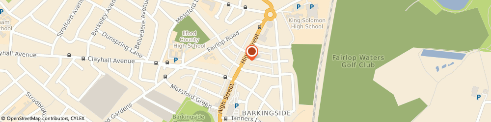 Route/map/directions to Conrad Advertising, N14 6EQ London, THE GRANGE, 100 HIGH STREET