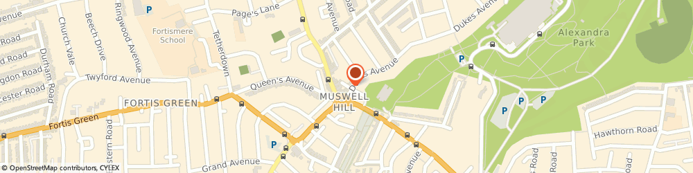 Route/map/directions to Picture Framing Muswell Hill, N10 2QN London, 320, DUKES MEWS
