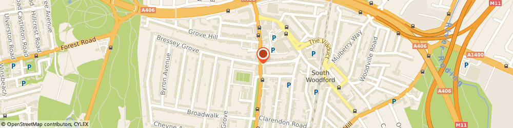 Route/map/directions to Goddard Veterinary Group - London, E18 2BH London, 8 Woodford Road