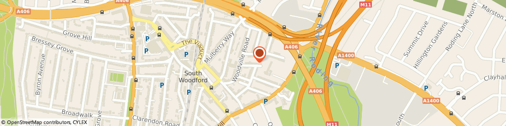 Route/map/directions to London Airport Transfers, E18 1JX London, 2 Acorn court, 6-8 Oakdale Road