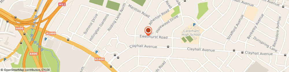 Route/map/directions to Scanners, IG5 0PE Ilford, 19 EWELLHURST RD